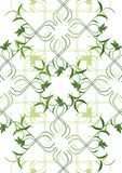 green floral ornaments Stock Photos