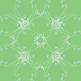 Green floral pattern Stock Images
