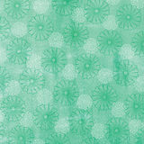 Green Floral Pattern Background Royalty Free Stock Images