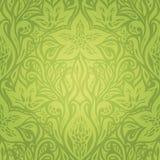 Green Retro vintage wallpaper vector design backround royalty free illustration