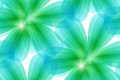 Green floral seamless background Royalty Free Stock Image
