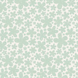 Green floral seamless pattern on light background. Royalty Free Stock Photography