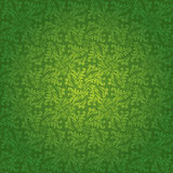 Green floral tile Stock Images