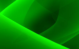Green flow Royalty Free Stock Photography