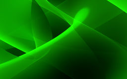 Green flow Stock Image