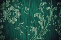 Green flower abstract background Royalty Free Stock Image