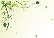 Green flower background Royalty Free Stock Image