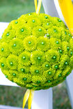 Green Flower Balls Royalty Free Stock Images