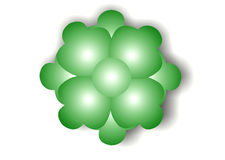 Green Flower Bubble Royalty Free Stock Photo