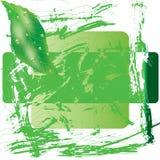 Green flower ecological design Stock Images