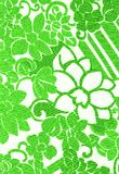 Green flower pattern. Royalty Free Stock Photos