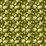 green flower wallpaper Royalty Free Stock Images