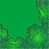 Green flowers Royalty Free Stock Photography
