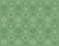 Green flowers on green background Stock Images