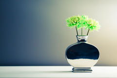 Green flowers interior decoration Royalty Free Stock Photos