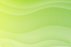 Green Flowing Soothing Waves Royalty Free Stock Image
