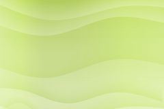 Green Flowing Soothing Waves Stock Photo