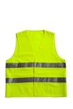 Green fluorescent vest Royalty Free Stock Photos
