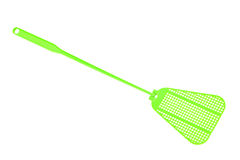Green fly swatter Royalty Free Stock Image