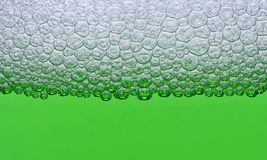 Green foam Stock Image