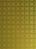 Green foil embossed patterned background Royalty Free Stock Image