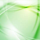 Green folder swoosh line abstract background Stock Image