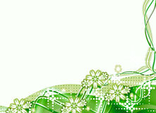 Green foliage. Japanese foliage flower plant. green garden in the spring. it's playful background and templates Stock Illustration