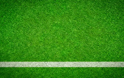 Green Football background with a horizontal line Royalty Free Stock Photo