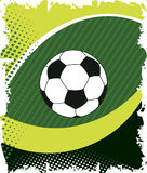 Green football eye.Abstract gridiron.Green doted background Stock Photo
