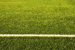 Green football field grass.Texture Royalty Free Stock Photography