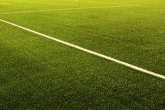 Green football field grass.Texture Stock Image