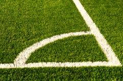 Green football field grass.Texture Stock Images