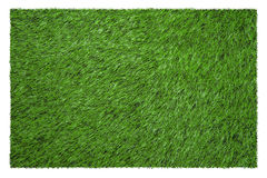Green football field view from above Stock Image