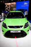Green Ford Focus Stock Photo