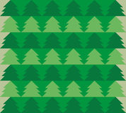 Green forest seamless pattern. Beautiful designs for printing documents stuff, blankets, pillows, pillow cases, bags, T-shirts, sw Stock Image