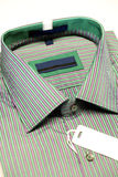 Green formal shirt Stock Photography