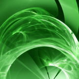 Green fractal Stock Image