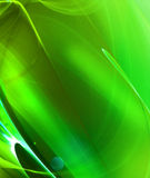 Green Fractal Royalty Free Stock Photo