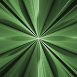 Green Fractal Flower Concept With Repetitive Stock Image