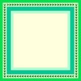 Green frame Royalty Free Stock Photo