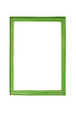 Green frame. Stock Photo