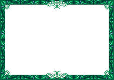 Green frame. Royalty Free Stock Images