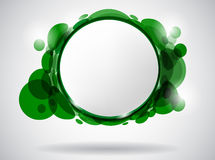 Green_frame Royalty Free Stock Photos