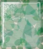 Green frame Stock Images