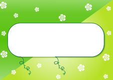 Green frame  Royalty Free Stock Images