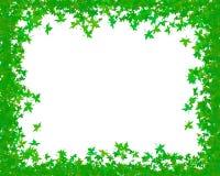 Green frame Stock Image