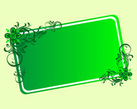Green frame Royalty Free Stock Photography