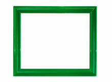Green framework. For photos on a white background Royalty Free Stock Image