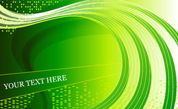 Green, fresh abstract background vector Royalty Free Stock Photography