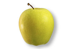Green fresh apple Stock Images